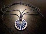 Talavera Halskette blau (rund: 5cm)