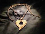 Talavera Halskette Giraffenmuster (Herz 6.5x6.5cm)