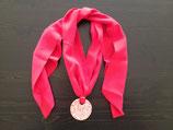 Talavera Halskette rot mit Schalband (rund: 5cm)