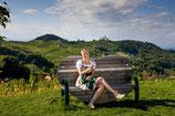 Fernblicke bis nach Slowenien