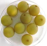 Polarisperlen 10 mm olivine