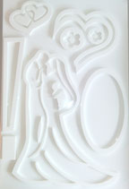 ART-000394 Wedding and Love cast mold