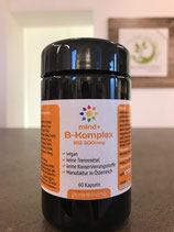 mind+ B-Komplex mit B12-500mcg, 60 Stk. - Pure Living