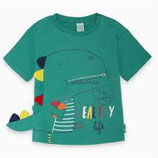 T-SHIRT JERSEY PICCOLO BABY VERDE