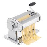 *Macchina impastatrice per pasta fatta in casa, in metallo cromato