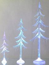 Alberi decorativo in acrilico con luce e adattatore;cambiano colore