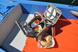 Elektroboot & Proseccofrühstück
