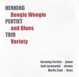 CD Henning Pertiet Trio - Boogie Woogie and Blues Variety