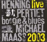 CD Henning Pertiet und Michael Maass - Live 2003