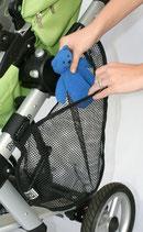 Kinderwagenseitentasche für extra Stauraum