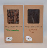 Tafel Schokolade in Vollmilch Schokolade mit Knusperperlen oder Zartbitter Schokolade 80%