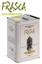 Frasca, Olivenöl Extra Vergine im Kanister
