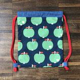 Turnbeutel für Kindergärtner Apfel