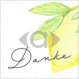 "Banderole Schokolade Motiv ""Zitrone"" PDF-Datei"