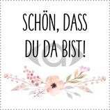 "Banderole Schokolade Motiv ""Flower"" PDF-Datei"