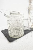 Glasgefäß mit Henkel
