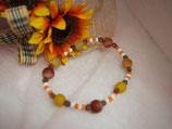 龍紋オレンジ瑪瑙+オレンジ+ホワイト