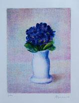 Antonio Bueno - Vaso di Violette