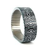 Circles Mandala - zwart en wit