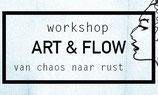 Art & Flow workshop, zondag 25 februari van 14.00-17.00 uur.