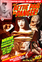 "Bettie Page In Danger! ""I Want It All!"" 10 Pack"