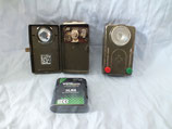 Taschenlampe mit Rot-Grünfilter, gebraucht, Batterie neu