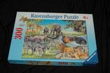 "Puzzle Ravensburger ""Tiere Afrika`s"""