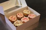 Cupcakes mit Buttercreme 6 Stück