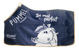 "Pummel dralondeken ""Be real not perfect"" Navy"