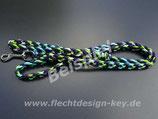 Wunsch-Führleinen flach geflochten Cross Braid, Farben frei wählbar:
