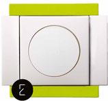 Variateur Rotatif 40 - 250W - couleur Vert Citron
