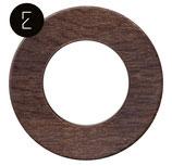 Plaque de finition en bois chêne foncé