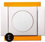 Variateur Rotatif 40 - 250W - couleur Orange Tropique