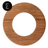 Plaque de finition en bois chêne clair