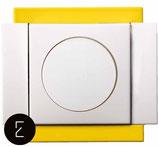 Variateur Rotatif 40 - 250W - couleur Jaune Citron