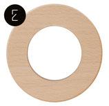 Plaque de finition en bois hêtre