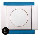 Variateur Rotatif 40 - 250W - couleur Bleu Electrique