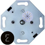 Interrupteur rotatif ou va et vient: 1 - 2