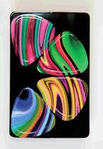Plektrumkarte Bunt