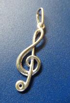Violinschlüssel Schmuckanhänger