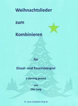 Weihnachtslieder für Melodieinstrumente