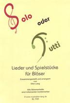 """""""Solo oder Tutti"""" Noten"""