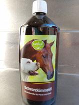 Schwarzkümmelöl für Hunde,  unfiltriert, 1 l