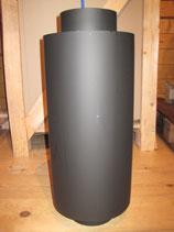 Warmlufttauscher für Warmluftofen - 10 KW - 4 Kanäle
