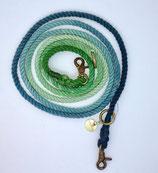 zampetta ombre Leine Gr. S blau/grün, Nr. 1