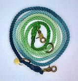 zampetta Ombre Leine Gr. M, grün/blau Nr.9