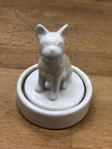 "Frenchie Stempel ""I WOOF YOU"""