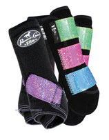 VenTECH ValuePack Glitter-Black-Multi Gr. L