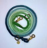zampetta Ombre Leine Gr. M, grün/blau, Nr. 11