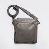 Cloud7 Crossbody Bag Leather Grey